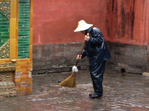 sweeping-rain
